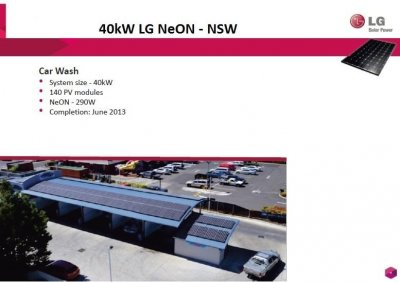 Pacific Solar - 40kW – Car Wash, NSW, 2015