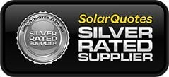 SolarQuotes Silver Rated Supplier