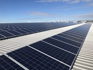 Commercial solar for warehouses