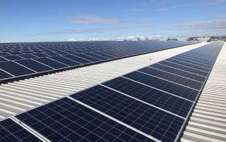 Commercial solar for warehouses