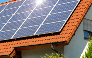 domestic solar installation