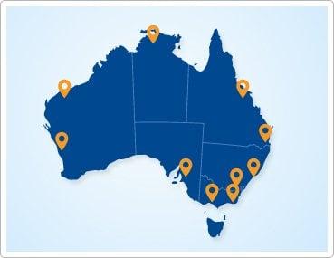 Pacific Solar Service areas